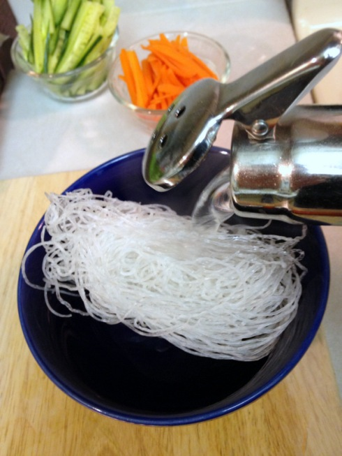 cellophane noodles_add water