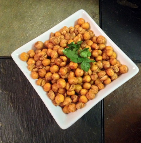 1-Spiced Roasted Chickpeas_in bowl