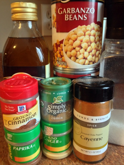 1-Spiced Roasted Chickpeas_ingredients