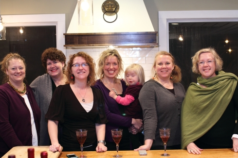 Terri, Jane, Christine, Jill/Gracie, B, Kate