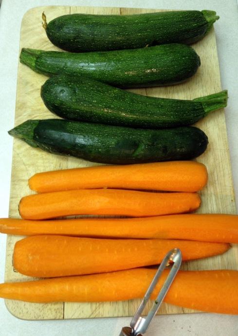 Carrots & Zucchini